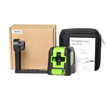 2 Line Infrad Level Self Leveling Green/Red Beam 110° Extend Angle Measurie Tool G8TB