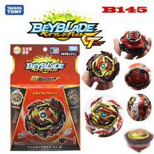TAKARA TOMY BEYBLADE Burst GT B-145 DX Starter Benom Diabolos.Vn.Bl burst gyro Attack toy bey blade toys for children B150 B129