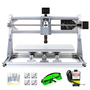 Image 4 - CNC3018 DIY CNC Router Kit 2 in 1 Mini Laser Engraving Machine GRBL Control 3 Axis Wood Carving Milling Engraving Machine