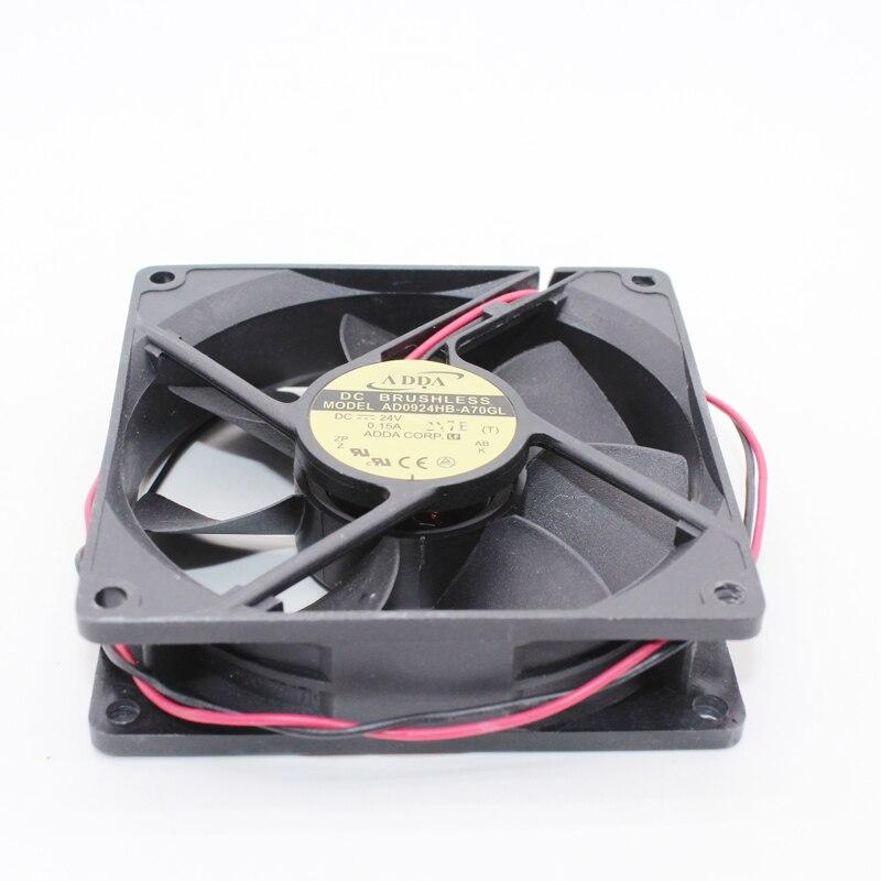 AD0924HB-A70GL ADDA Fan 9225 DC24V 9 Cm / CM Cooling Fan Mute Fan