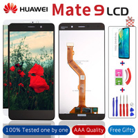 5.9'' Display For HUAWEI Mate 9 LCD Touch Screen with Frame for Full Assembly Replacement Huawei MHA L29 Mate9 LCD +Gifts