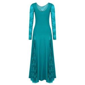 Image 4 - Sexy koronki do tańca towarzyskiego sukienka do tańca dla kobiet długie rękawy waltz tango sukienki do tańca standardowa sukienka do tańca towarzyskiego czarny/czerwony/niebieski/ proszę kliknąć na zielony