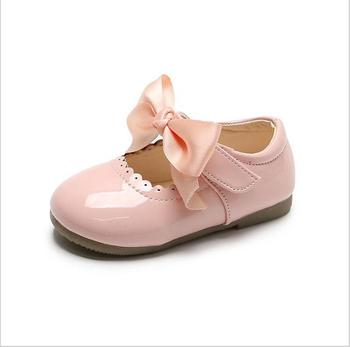 New Spring Summer Autumn Children Shoes Girls Shoes Princess Shoes Fashion Kids Single Shoes Bow-knot Casual Sneakers abckids new spring autumn girls soft leather shoes children girls princess bowknot sneakers single shoes kids dance shoes rubber