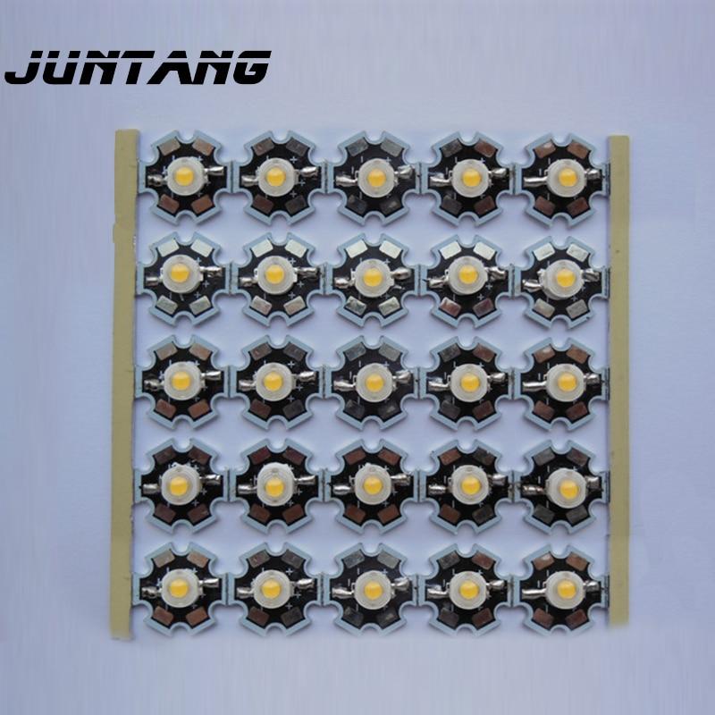 Высокомощная светодиодная лампочка Bridgelux из натуральной США 3 Вт Светодиодная лампа 45 мил диаметр чипа 20 мм алюминиевая подложка 10 шт