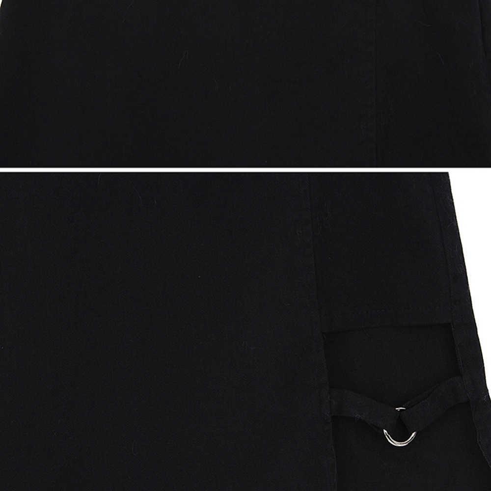 Style coréen noir hanche jupes irrégulière Micro Mini jupe Mini jupe mode d'été Saia taille haute Faldas Mujer