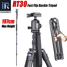 INNOREL RT30 Professional Aluminum Alloy Tripod Monopod Add Ball Head, Max Height 197cm/77.6in For Outdoor Camera Video Recorder