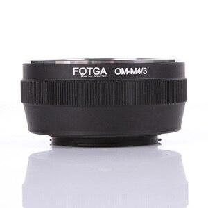 Image 2 - Переходное кольцо Fotga для объектива Olympus OM, классическое ручное крепление для объектива Micro M4/3, Аксессуары для DSLR камеры