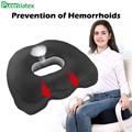 Подушка для сидения Coccyx из натурального латекса  нескользящая комфортная Ортопедическая подушка для облегчения боли в спине хвоста