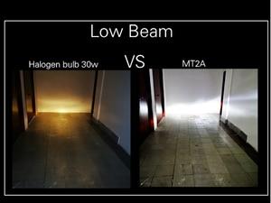 Image 4 - Mt Serie 1 Pc BA20D H6 Led Motorfiets Koplamp Lamp Anti Glare Ultra Moto Super Heldere Wit Motorbike Hoofd lamp 12V 6500K