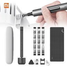 Original Xiaomi Wowstick1f Mini Electric Screwdriver Rechargeable Cordless Power Screw Driver Kit with LED Light Lithium Battery