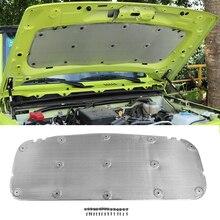 NHAUTP 1Pcs Auto Zubehör Für Suzuki Jimny 2019 2020 Haube Ton Wärme Isolierung Baumwolle Pads Aluminium Folie