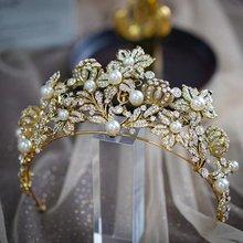 Тиары короны в стиле барокко для невесты