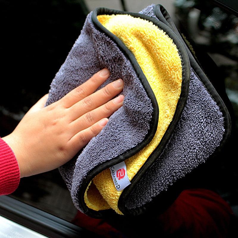 Полотенце из микрофибры для мытья автомобиля, салфетка для мытья автомобиля, ткань для ухода за автомобилем, полотенце для мытья автомобиля...