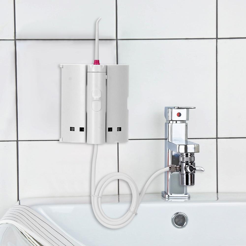 10 Tips Faucet Oral Irrigator Portable Water Dental Flosser Mouth Wash Water Pick Jet Dental Irrigator For Teeth CleaningOral Irrigators   -