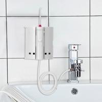10 tipps Wasserhahn Oral Irrigator Tragbare Wasser Dental Flosser Mund Waschen Wasser Pick Jet Dental Irrigator Für Zähne Reinigung-in Mundduschen aus Haushaltsgeräte bei