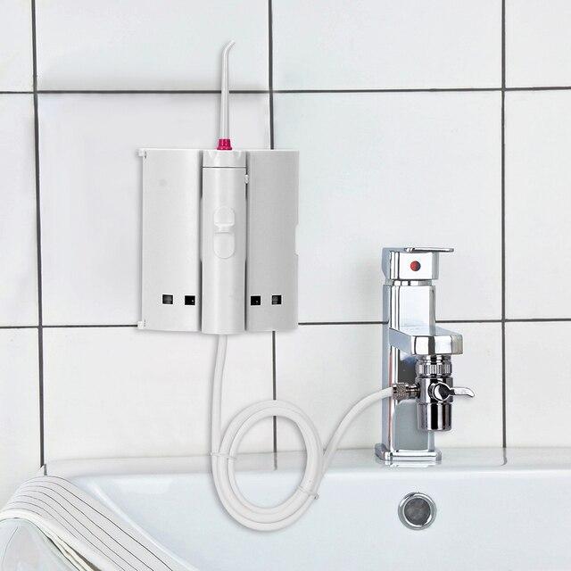 Irrigador Dental portátil con chorro de agua, 10 puntas, para limpieza Dental
