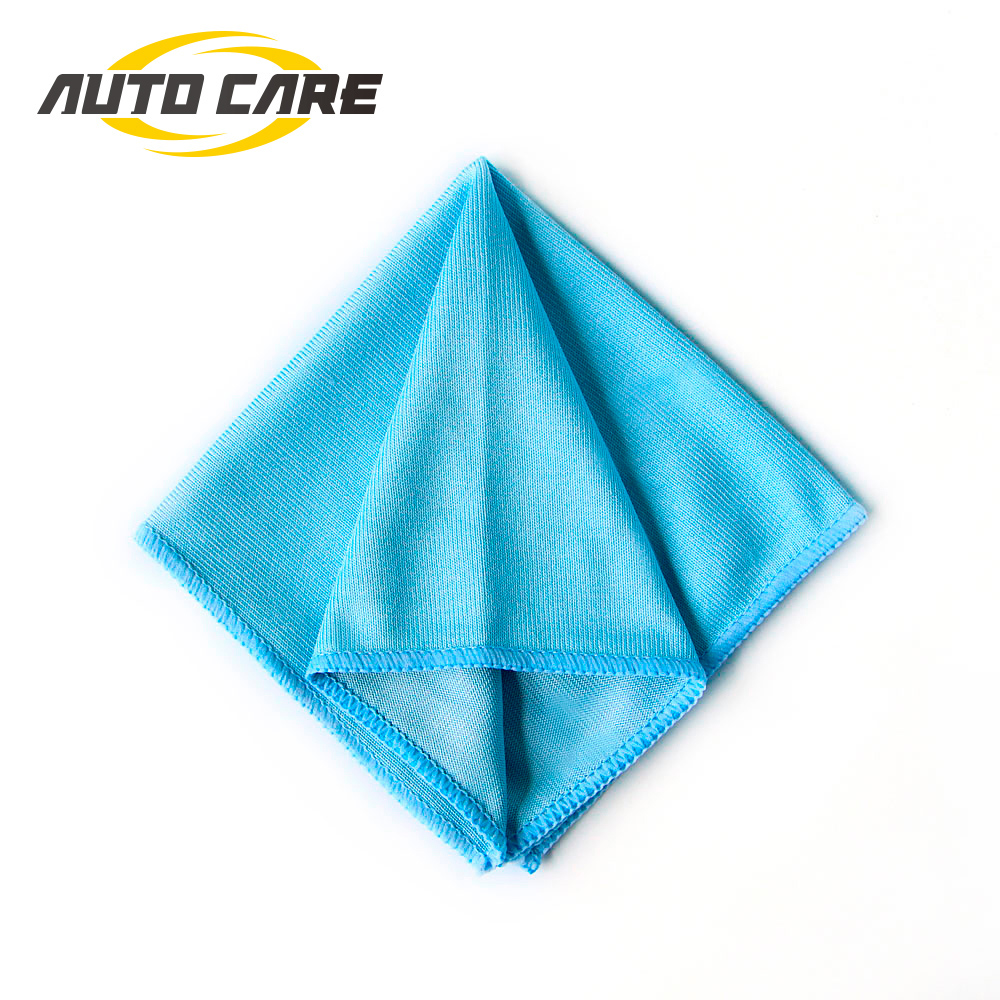 1P Car Microfiber Glass Cleaning Towel Stainless Steel Polishing Shine Cloth Window Windshield Cloth 12