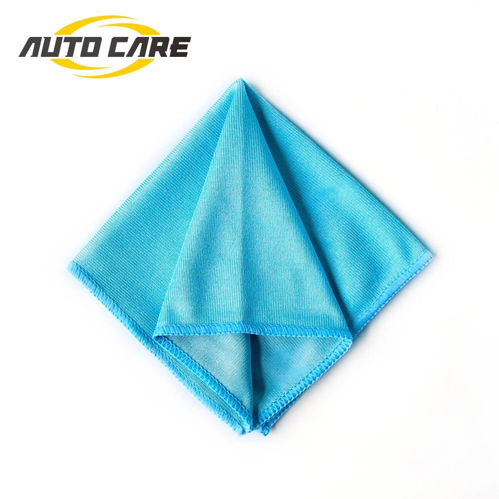 1P Car Microfiber Glass Cleaning Towel Stainless Steel Polishing Shine Cloth Window Windshield Cloth 12