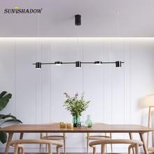 Светодиодный подвесной светильник в скандинавском стиле потолочная