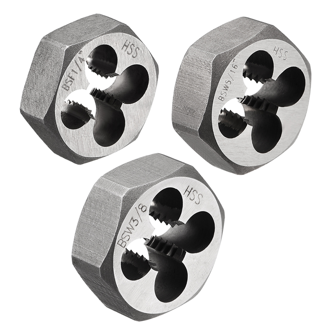 HSS High Speed Steel uxcell 4-40 UNC Right Hand Round Die Machine Thread Die Threading Die Screw Die Tool