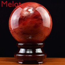 Ball-Decoration Fengshui-Ball Crystal Opportunity Lucky Natural Office Home Knocks Living-Room