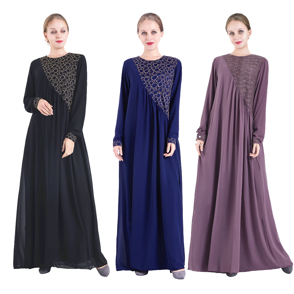 Abaya Muslim Dress Robe Dubaï Turkey Islamic Clothing Caftan Marocain Kaftan Ramadan Dresses Abayas For Women Vestidos Sukienki