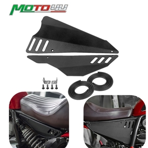 For Ducati Scrambler 800 Aluminum Motorcycle Side Panel cover protection Decorative covers Cafe Racer Scrambler