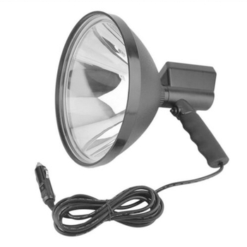 Hiking Waterproof Multi Functional Fishing 9inch Handheld Lamp Long Shots 6000K 12V 100W Spot Light Camping Hunting Lightweight