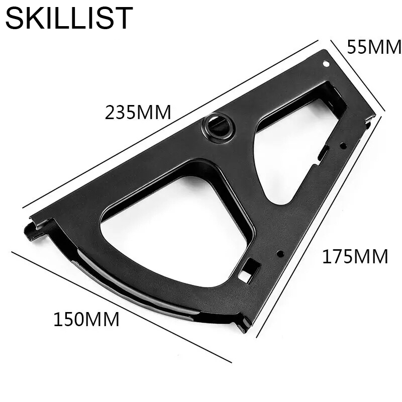 SSS#3 L-shaped Right Plus Fixed Angle Iron Thick Stainless Steel Corner Code Layer Bracket Table And Chair Connector