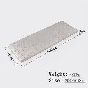 Image 5 - [ВИДЕО] 1 шт. 400 1000 двухсторонняя зернистость Алмазная точилка для ножей точильный камень кухонные инструменты хонингование лезвия грубая заточка