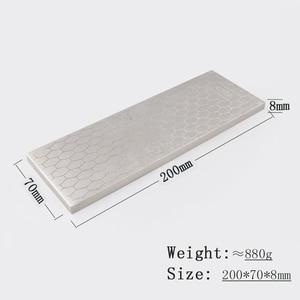 Image 5 - [Video]1pcs 400 1000 double side grit diamond knife sharpener sharpeing stone kitchen tools honing blade coarse sharpen