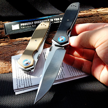 ZT0640 Folding Knife G10 handle Tactical Survival Knives Hunting Camping Blade Multi High Hardness Military Pocket Tool Knives
