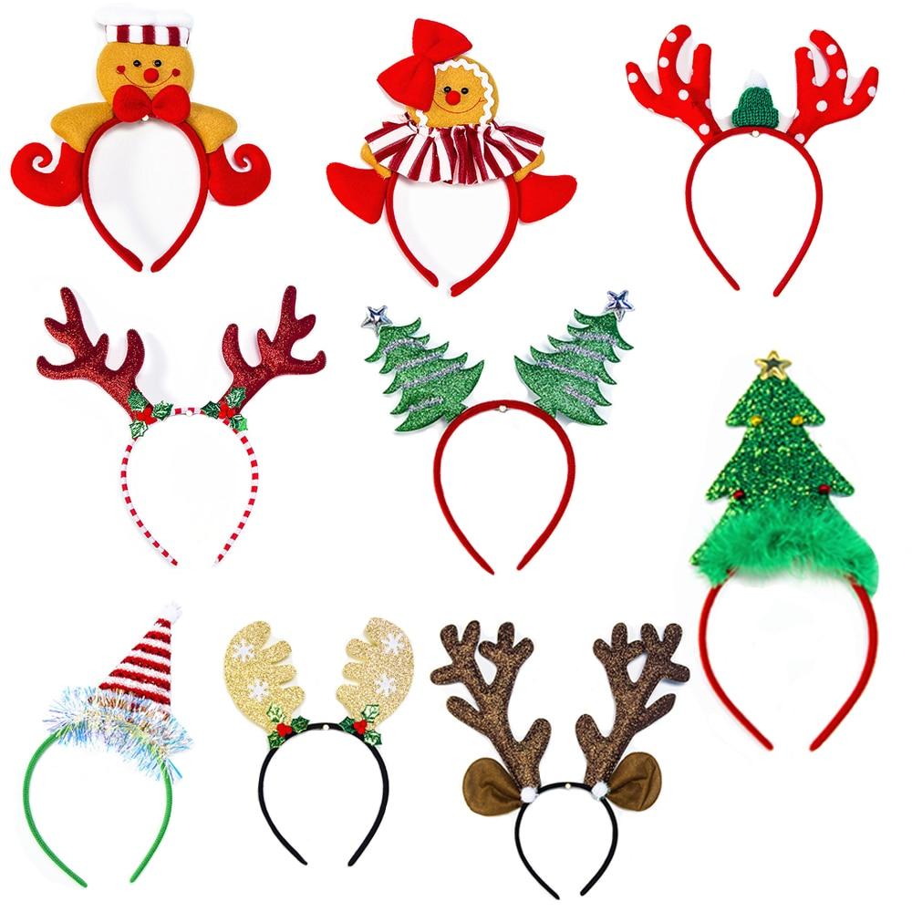 Christmas Xmas Headband Reindeer Snowflake Bell Hairband Girl/'s Gift