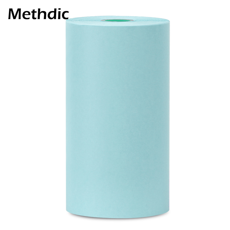 Methdic Durable Printing Paper Paste Bill Receipt For Peripage 57x30mm