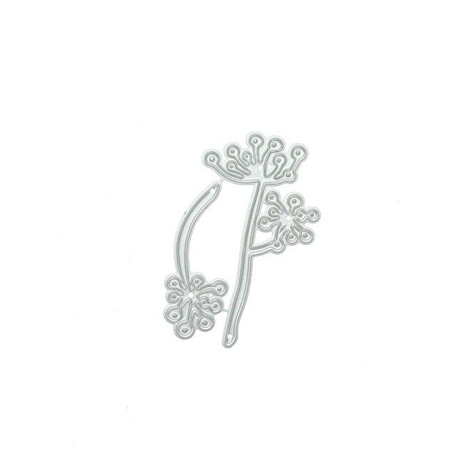 Фото металлические вырубные штампы jc в форме цветка для скрапбукинга