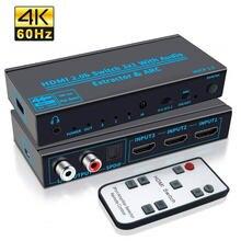 Выключатель hdmi 20 с высоким разрешением 4k full hd выход 3