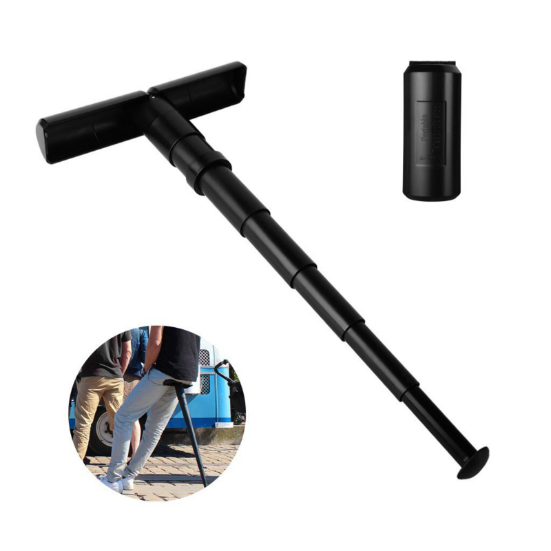 1PC Portable Seat Folding Telescopic Stool Chair Walking Adjustable Hiking Hunting Fishing Outdoor Cane Camping Lightweight