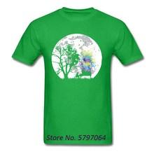 T-Shirt Men T Shirt Moonlight Song Tees Europe Tee-Shirt Clo