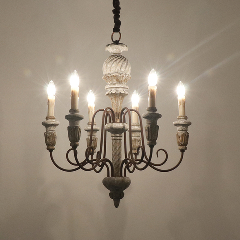 lustre de madeira ferro do vintage iluminacao lustre para sala estar quarto retro bois lustres