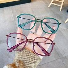 2020 mode irrégulière métal cadres ordinateur lunettes cadre femmes hommes Anti-lumière bleue lunettes blocage lunettes optique Spectacle
