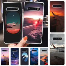 ByLoving Wing sky TPU Soft Silicone Phone Case Cover For Samsung S6 S7 S7 edge S8 S8 Plus S9 S9 Plus S10 S10 plus S10 E(lite)(China)