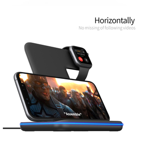 Image 3 - Charging Dock Holder For Iphone XS max 11 Pro max Iphone 8 Plus Silicone charging stand Dock Station For Apple iwatch Airpods