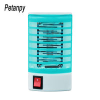 100pcs Mosquito Killer Lamps LED Socket Electric Mosquito Fly Bug Insect Trap Killer Zapper Night Lamp Lights lighting EU US