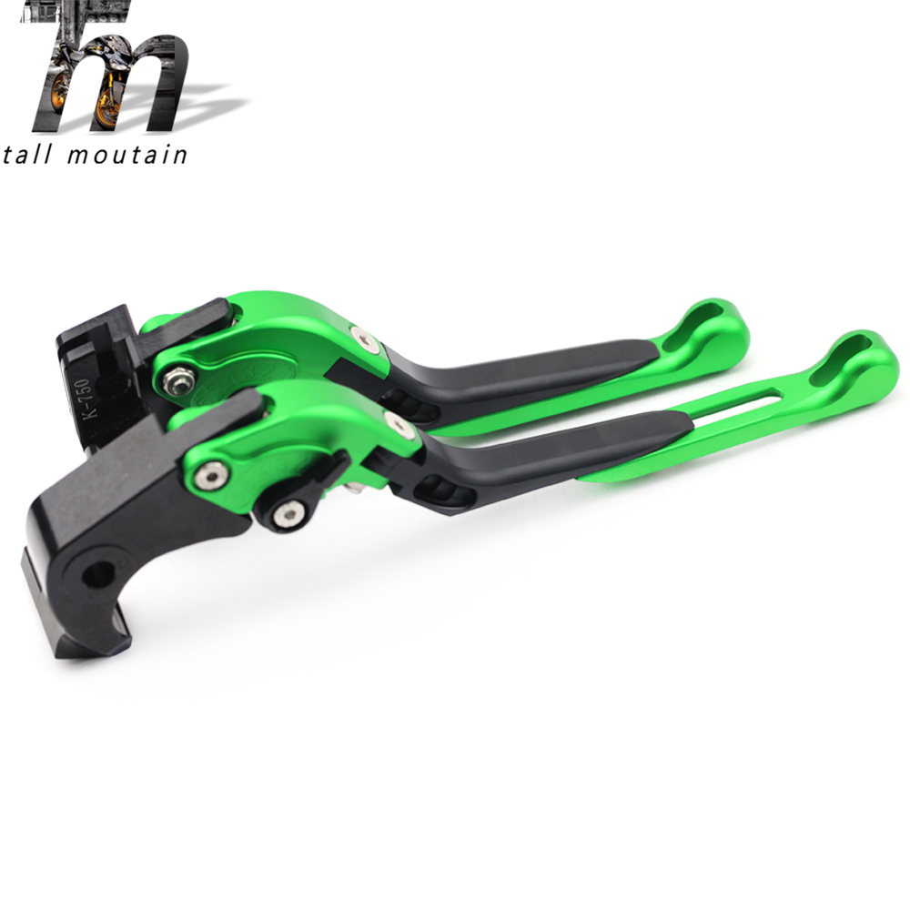 Brake Clutch <font><b>Lever</b></font> For KAWASAKI EX <font><b>400</b></font> <font><b>NINJA</b></font> EX400 2018 Motorcycle Accessories Adjustable Folding Extendable image
