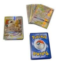 Nouvelle Version anglaise 200gx Pokemon Carte brillante, avec 60V 40VMAX 20 énergie, pas de répétition, Carte de combat, jeu de commerce, Collection cadeau