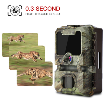 BOBLOV 30MP ghost hunting camera Photo Traps Night Vision Infrared Trail Hunter Camera WildKamera Deer Hunting Camera 1080P 6