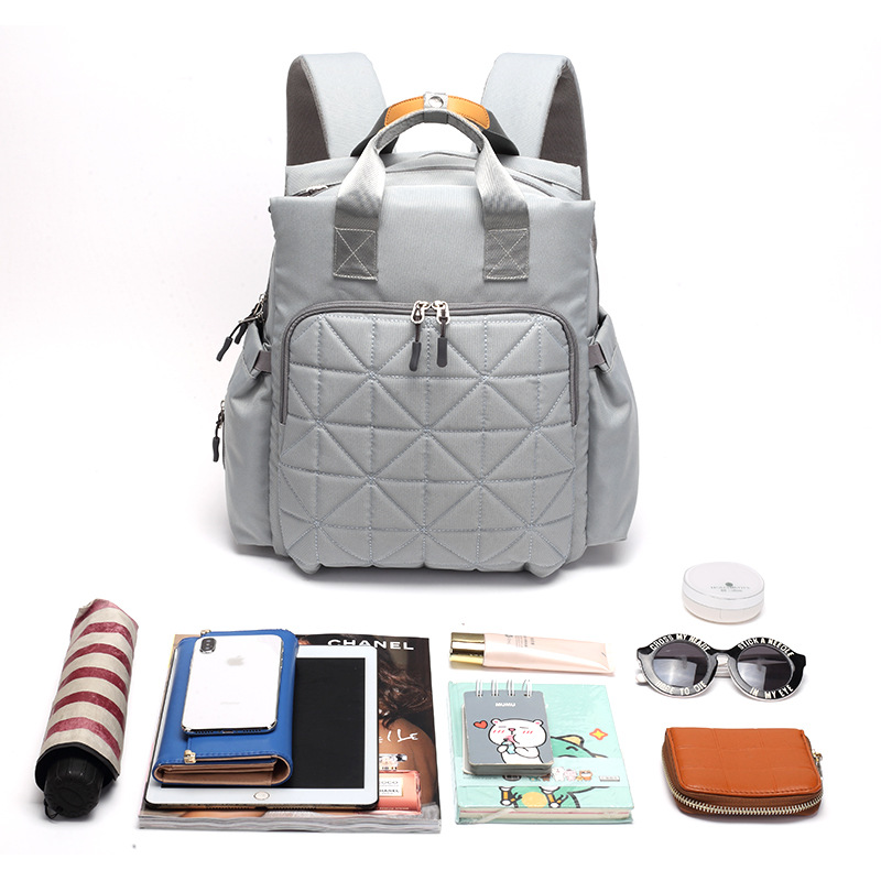 New Diaper Bag Updated Multi-functional Mother And Baby Bag Nappy Bag Travel Bag New Mum Waterproof Backpack