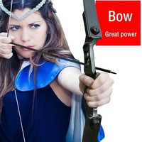 Alloy Straight Long Bow Arrows All Accessories Set 30LBS 35LBS 40LBS Recurve Shooting Fishing Tools Target Adult Hunting Archery