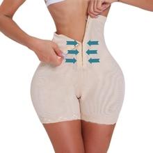 Waist trainer modeling strap slimming underwear butt lifter tummy shaper pulling panties slimming sheath belly women bodyshaper