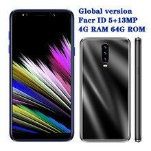 P30 pro smartphones 4g ram 64g rom 13mp telefones celulares 5.5 polegada 18:9 rosto desbloqueado telefones android mtk6580 quad core wifi